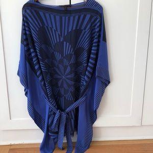 BCBGMAXAZRIA silk tunic